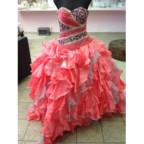 Vestido Para Xv Años Ragazza Color Coral