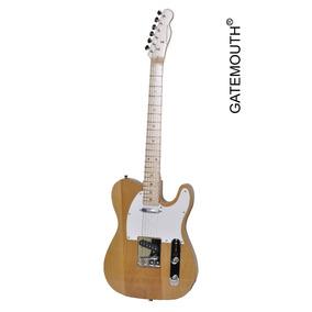 Guitarra Elétrica Gatemouth Modelo Telecaster Corpo De Swamp