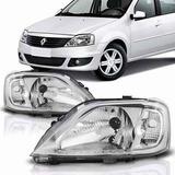 Par De Opticas Renault Logan 2007-2008-2009-2010
