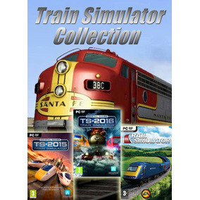 Train Simulator Collection Simulador De Trem Coleção Pc