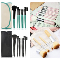 Set 7 Brochas Profesionales Make Up For You 100% Originales