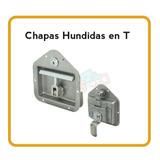 Chapa Inoxidable Para Puerta Camion C/llave,paleta Ajustable
