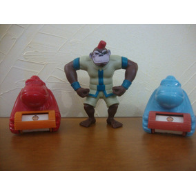 Antigos Brinquedos Mcdonalds Mutant Rex Lote Com 3