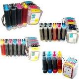 Sistema Continuo Para Plotter Hp 110 111 500 510 C/tinta Ocp