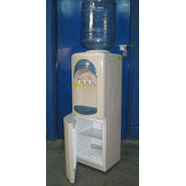 Dispenser 3 Temperaturas Con Heladera Para Botellon