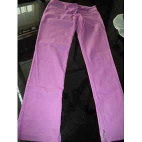 Pantalon .mujer. Talle S .equivale 36-38. Color Fucsia.