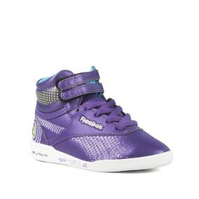 Zapatillas Reebok Freestyle Cuore Niños Violeta