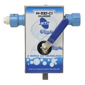 Equipamento De Limpeza Diluidor Manual Modelo N-100-ci Nti