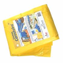Lona Carreteiro 6x3 Itap Amarela Encerado C/ Ilhos - Mixferr