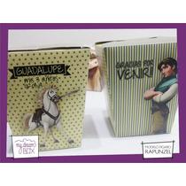 Souvenir Personaliza Cumple Caja F1 Rapunzel Enredados Varon