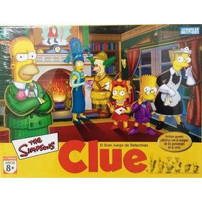 Byp Juego De Mesa Clue Simpsons Misterio Ingenio Hasbro