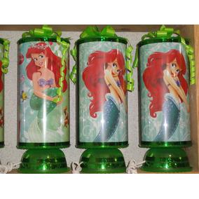 Sirenita Ariel Centros De Mesa,recuerdos, Lamparas Sirenita