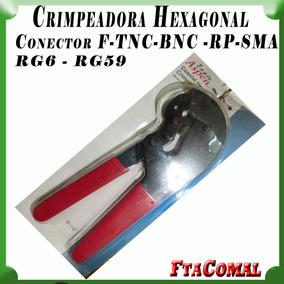 Crimpiadora Rg6 Rg59 Crimpeables N, F, Tnc,bnc, Rp Sma