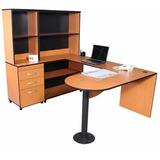 Escritorio Modular Ejecutivo Minimalista Biblioteca Oficina