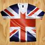 Camiseta Reino Unido 4 - Grã Bretanha - Inglaterra - Uk