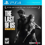 The Last Of Us Ps4 Nuevo Original Domicilio Esp
