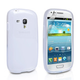 Capa Galaxy S3 Mini Transparente Silicone