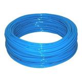 Tubo Poliuretano Pu 10mm Azul - Pneumático Rolo Com 50 Mts