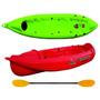 Kayak Atlantikayaks K1 Con Remo Eslora 2.6 Metros Manga 72cm