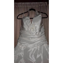 Vendo Vestido De Novia, Talla 50, Usado