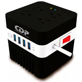 Regulador Cdp Ruavr604 600va 400w 4contactos 4usb