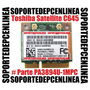 Toshiba Satellite C645-sp4135l Tarjeta Wifi Pa3894u 1mpc