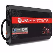 Fonte Carregador Bateria Digital Jfa 100a Modelo Novo