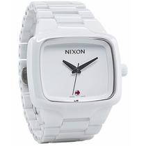 Relógio Nixon The Ceramic Player White - Poison Surf Shop