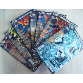 *coleção Gibi Super-heróis Premium X-men Nº1 A 7(37951-cx13)