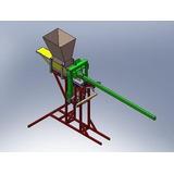 Projeto Máquina Tijolo Ecológico 30x15cm - Frete Grátis