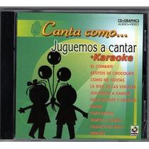 Canta Como Juguemos A Cantar Karaoke Musart 2004 Rarisimo
