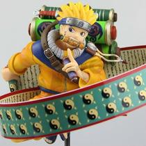 Boneco Estatua Pvc 23 Cm Grande Naruto Na Caixa Anime Manga