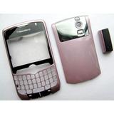 Carcaça Para Blackberry Curve 8350i (nextel) - Cor Rosa