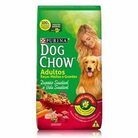 Ração Dog Chow Adultos Rçs Méd E Gran Carne Vegetais 15kg