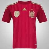Camisa Espanha Seleção Oficial adidas 2014 Pronta Entrega
