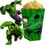 Kit Imprimible Increible Hulk Cotillon Y Candy Bar 2x1