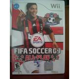 Wii, F I F A Soccer 2009 All Play, Seminuevo, Original