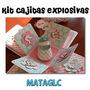 Tarjetas Bautizo Boda 15 Años Cajitas Explosivas - Recuerdos