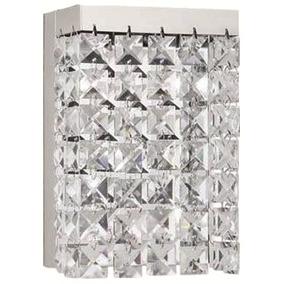 Luminaria De Parede Arandela Taschibra De Vidro Até 80w