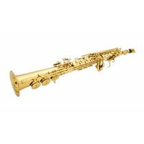 Sax Soprano Sib Laqueado Completo Similar Yamaha Weril Eagle