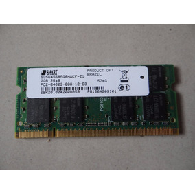 Memória Ram 2gb Ddr2 Notebook Dell Inspiron 1525 1545 Smart
