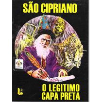 Livro São Cipriano O Legítimo Capa Preta Novo/lacrado