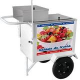 Carrinho Salada De Frutas Armon Csfl-019 Rodas Pneumáticas
