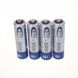 Pilas Baterías Aa Recargables 3000 Mah Ni-mh X 4