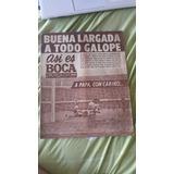 Revista Así Es Boca N° 790 Del 10-09-69: 3x2 Vs San Lorenzo!