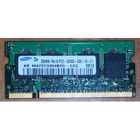 Memoria Laptop Samsung 256 Mb Ddr2 Sodimm