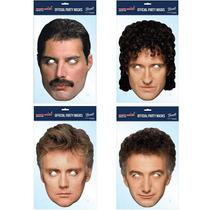 Queen Mascaras Oficial - 4 Freddie Mercury Brian Roger John