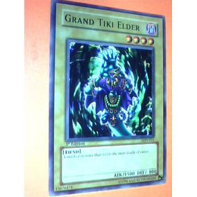 Grand Tiki Elder -x1 Lon 011 Yugioh Fiend 1st Edition Nueva