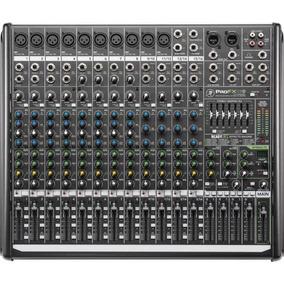 Mesa Mixer Analógica 16ch Eq Fx 48v 2 Aux Mackie Profx16v2