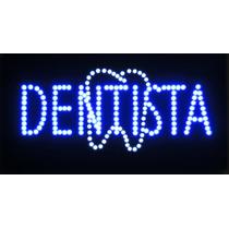Anuncio De Led Dentista Con Muela /letrero Dental Luminoso